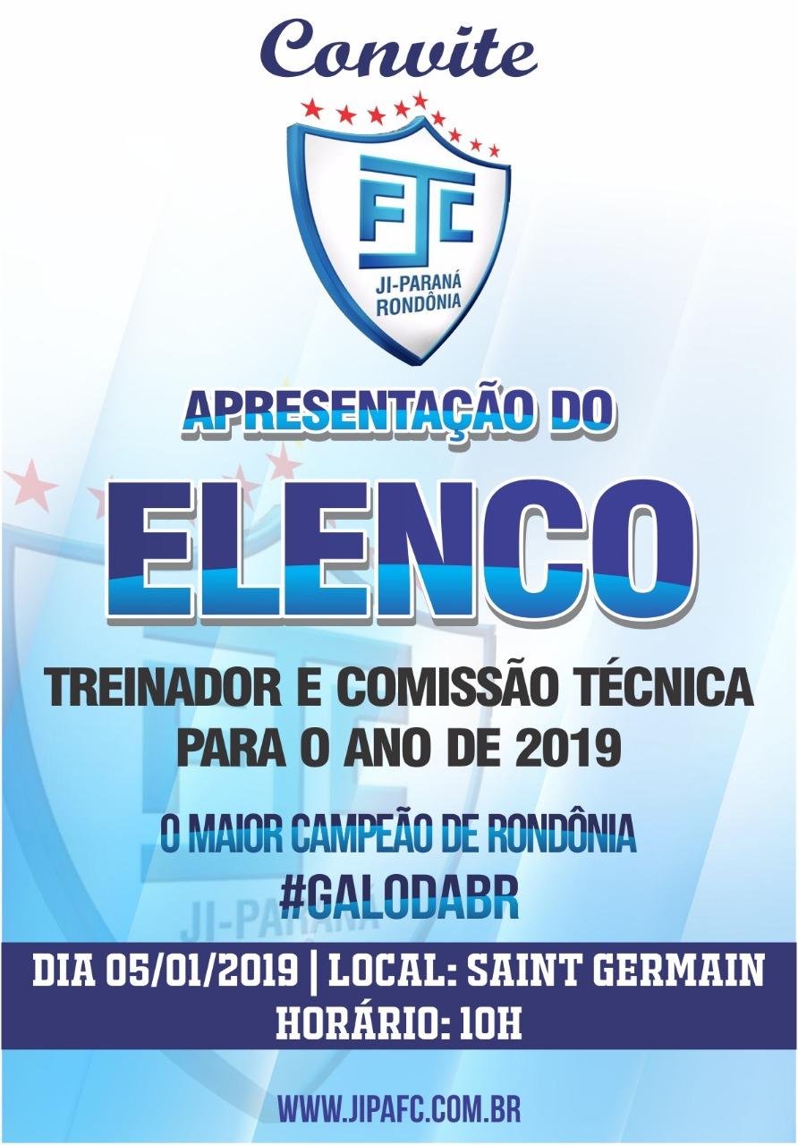 O Ji-Paraná Futebol Clube realiza na manhã deste sábado (05) 49ff19abc915b